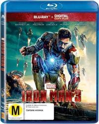 Iron Man 3 on Blu-ray, DC+