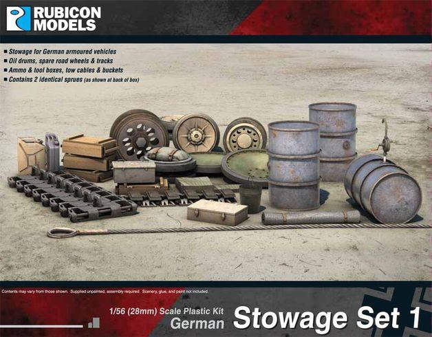 Rubicon 1/56 German Stowage Set