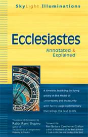Ecclesiastes by Rabbi Rami Shapiro