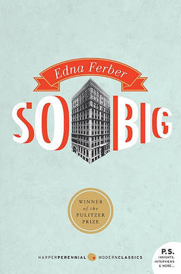 So Big by Edna Ferber image