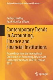 Contemporary Trends in Accounting, Finance and Financial Institutions