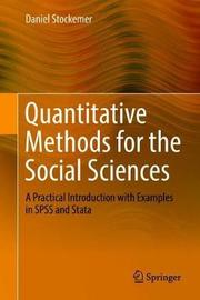 Quantitative Methods for the Social Sciences by Daniel Stockemer image