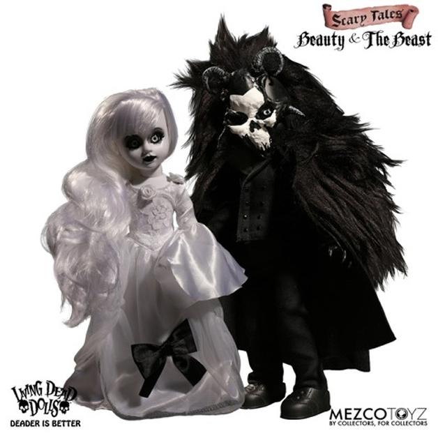 "Living Dead Dolls: Beauty & the Beast 2-Pack - 10"" Doll"