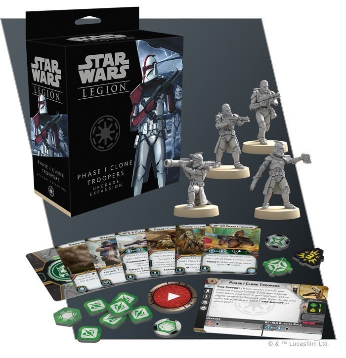 Star Wars Legion: Phase I Clone Troopers Upgrade Expansion image