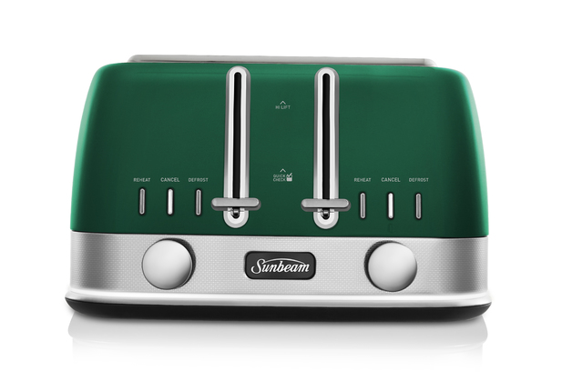 Sunbeam: New York Collection 4 Slice Toaster - Central Park Green