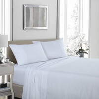 Royal Comfort 1200 Thread Count Ultrasoft 4 Piece Sheet Set - King - White
