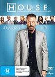 House, M.D. - Season 6 (6 Disc Set) on DVD