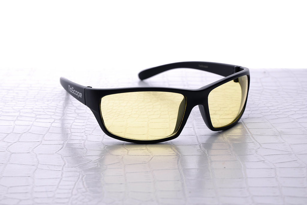 NoScope Minotaur Computer Gaming Glasses - Onyx Black for PC Games image