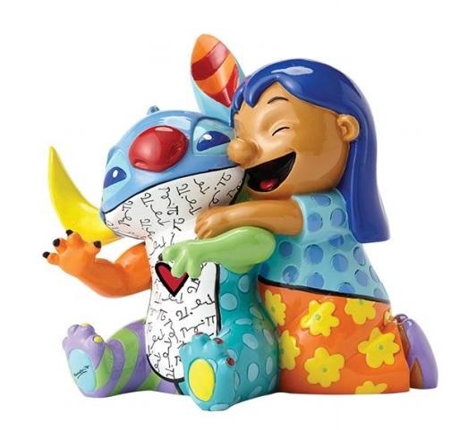 Romero Britto: Lilo & Stitch Figurine