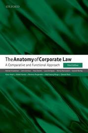 The Anatomy of Corporate Law by Reinier Kraakman