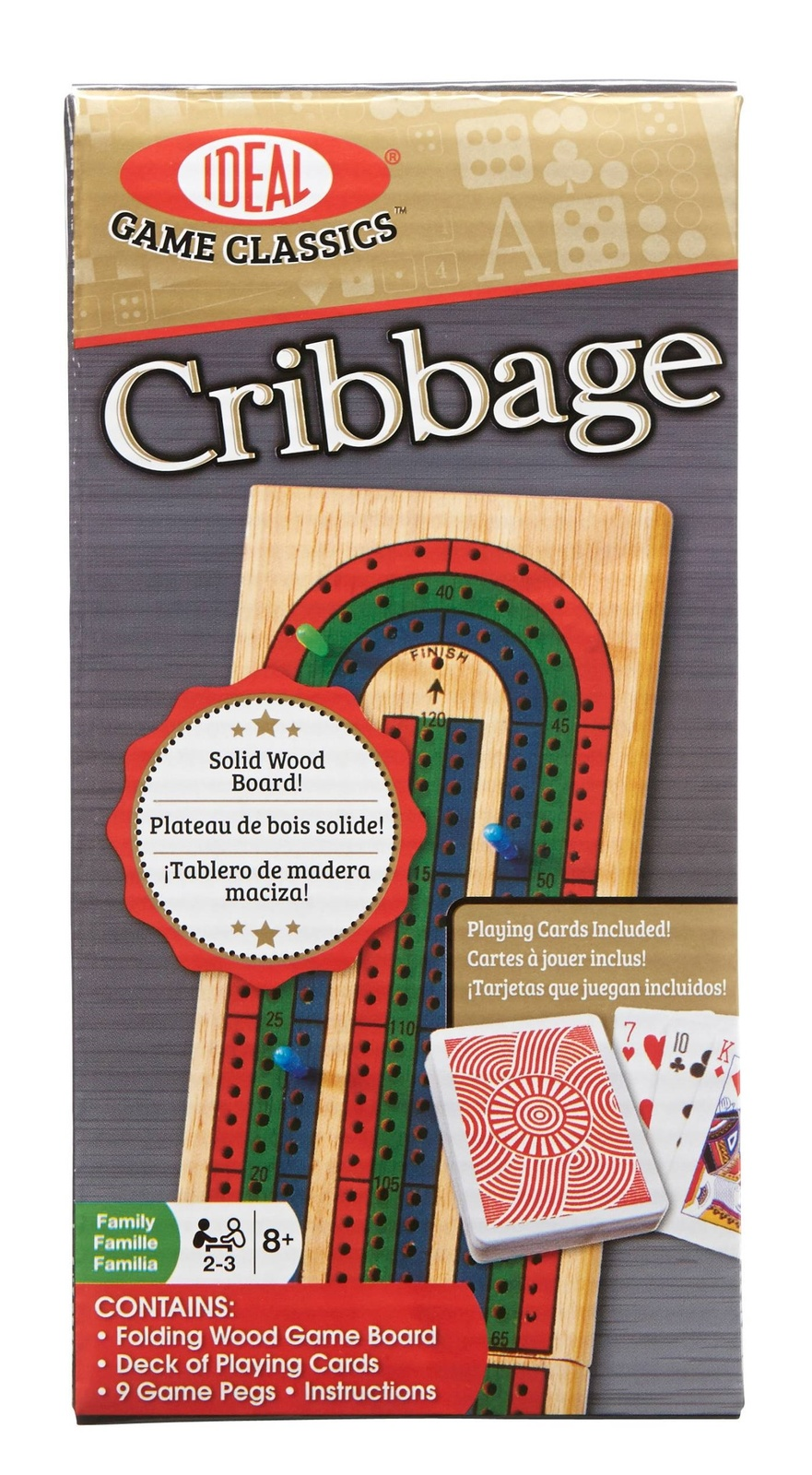 Ideal Folding Wood Cribbage Toy At Mighty Ape Australia