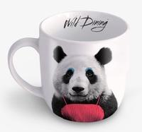 Wild Dining: Ceramic Mug - Panda image
