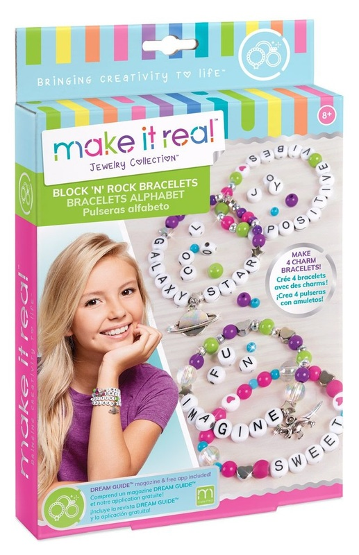 Make It Real: Block n' Rock Bracelets - Craft Kit