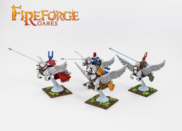 Fireforge Albion's Knights on Pegasus