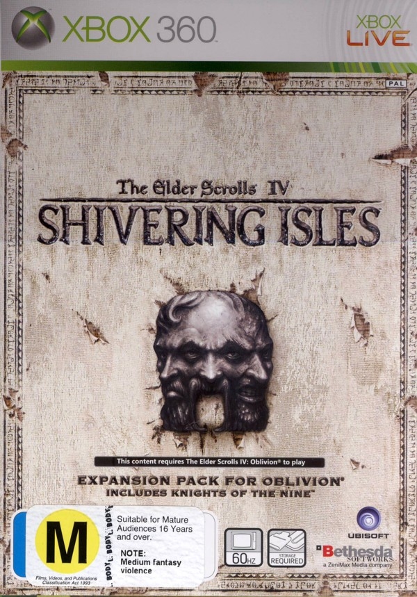 Elder Scrolls IV: Oblivion Shivering Isles for Xbox 360 image