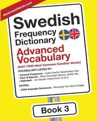 Swedish Frequency Dictionary - Advanced Vocabulary by Mostusedwords