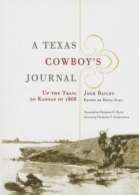 A Texas Cowboy's Journal by Jack Bailey image