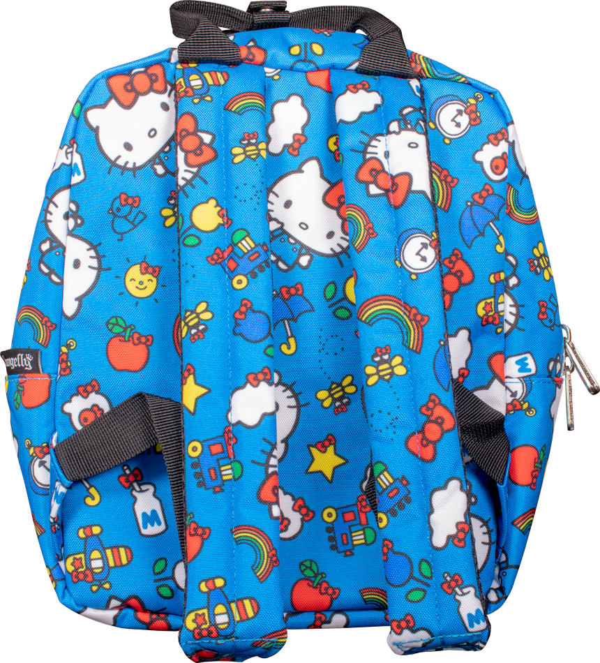 Loungefly: Hello Kitty - Blue Collage Backpack image