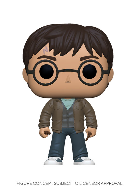 Harry Potter: Harry Potter (With Two Wands) - Pop! Vinyl Figure