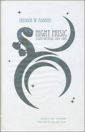 Night Music by Theodor W Adorno