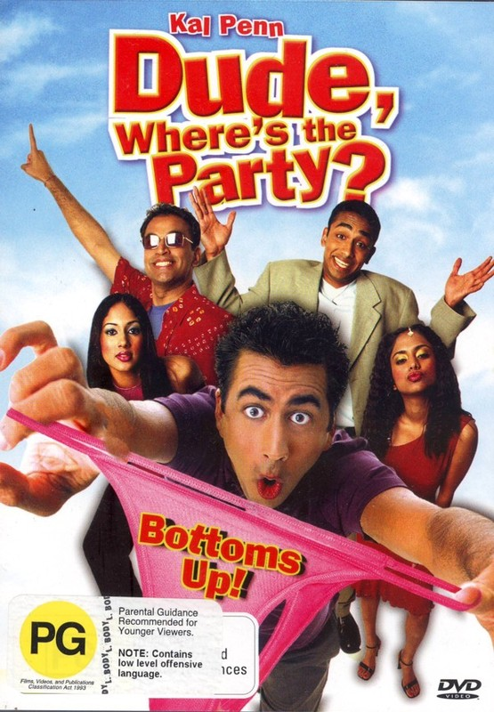 Dude Where's The Party? on DVD