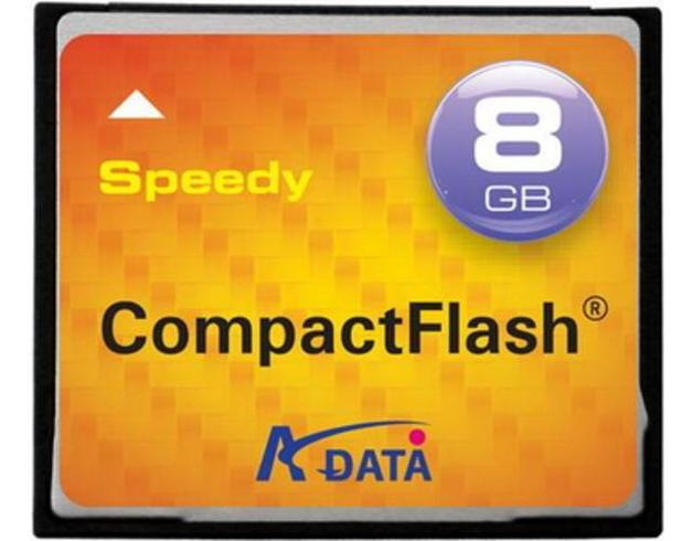 Adata Speedy Compact Flash Cards 8GB