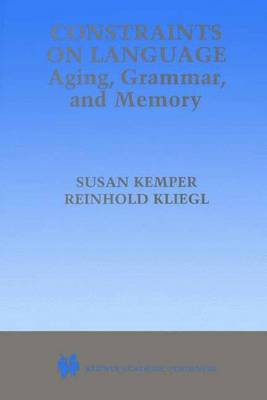 Constraints on Language: Aging, Grammar, and Memory image