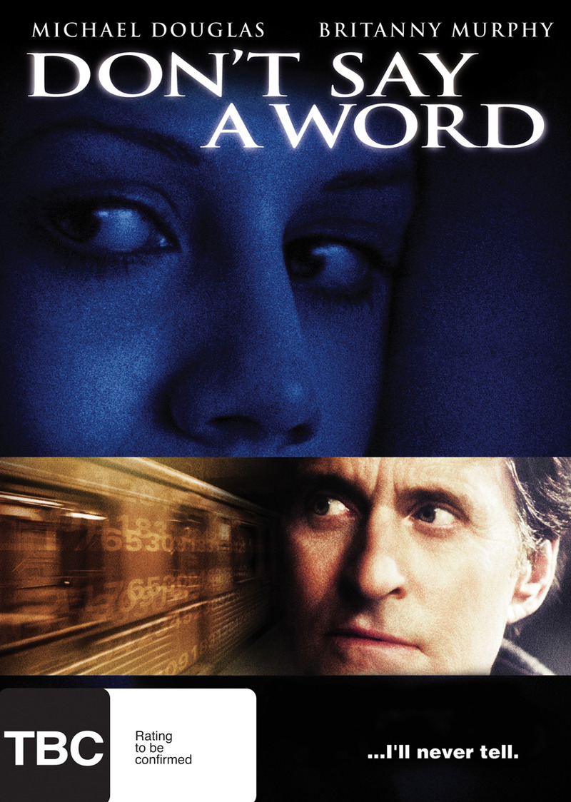 Don't Say A Word on DVD image