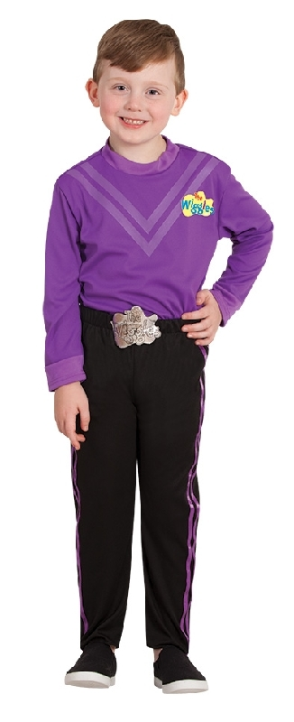 Lachy Wiggle Deluxe Costume (Purple) - Size 3-5