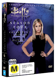 Buffy - The Vampire Slayer: Season 4 (6 Disc Set) on DVD