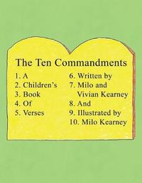 The Ten Commandments by Milo Kearney