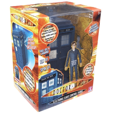 "Doctor Who - 5"" Flight Control TARDIS image"