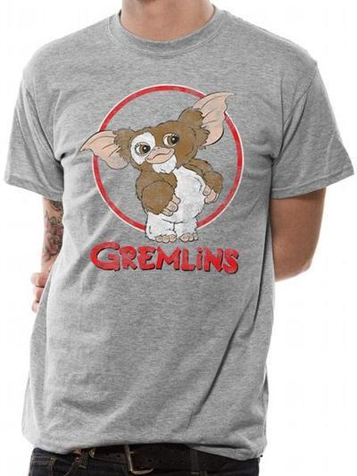 Gremlins: Gizmo Distressed Tee - Ex Large