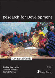 Research for Development: A Practical Guide by Sophie Laws image