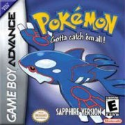 Pokemon Sapphire for Game Boy Advance