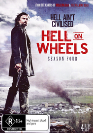 Hell On Wheels - Season Four on DVD
