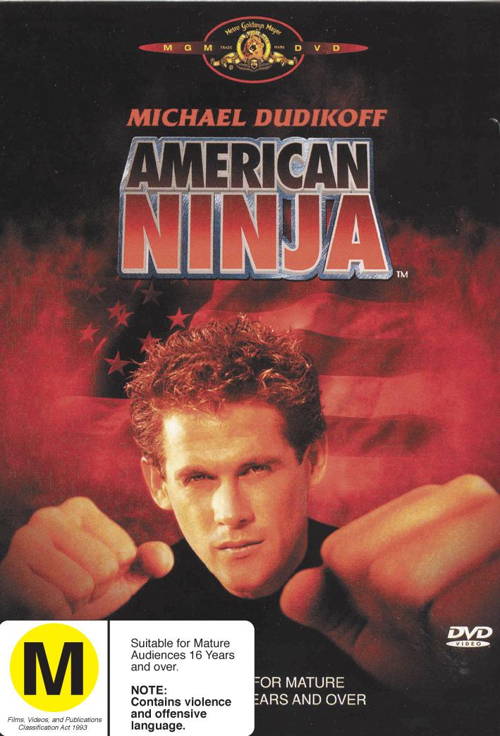 American Ninja on DVD image