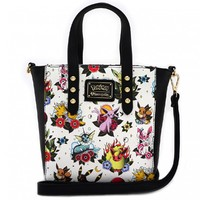 Loungefly: Pokemon Eevee Evolutions - Tattoo Crossbody Bag