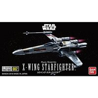 Star Wars VEHICLE MODEL 002 X-WING Starfigther - Scale Model Kit