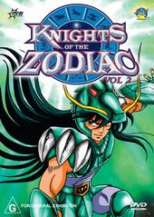 Knights Of The Zodiac - Vol 2 on DVD