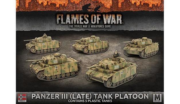 Flames of War: Panzer III (Late) Platoon