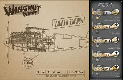 Wingnut Wings 1/32 Albatros D.Va 'Wooden Wonders'