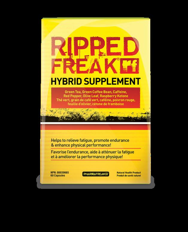 Ripped Freak Hybrid Supplement Fat Burner | 60 Capsules