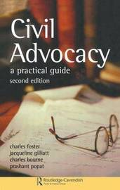 Civil Advocacy by Charles Bourne