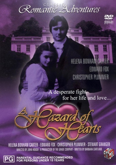 Hazard Of Hearts, A on DVD