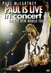 Paul McCartney - Live In Concert On The New World Tour on DVD