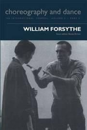 William Forsythe by Senta Driver