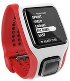 TomTom Multi-Sport Cardio Watch - White/Red