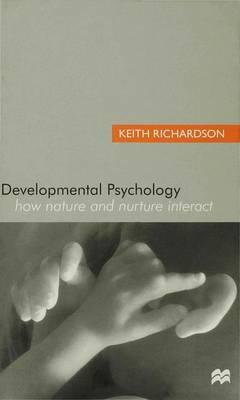Developmental Psychology by Keith Richardson image