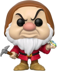 Snow White & the Seven Dwarfs - Grumpy (Diamond & Pick Ver.) Pop! Vinyl Figure